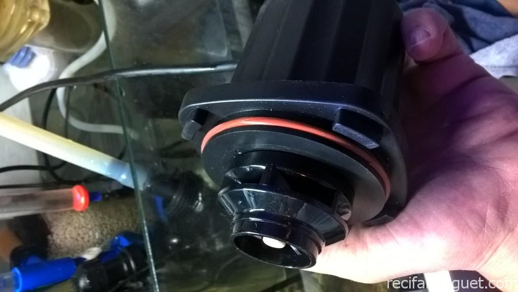 ELOS DC6000 - Emplacement du joint