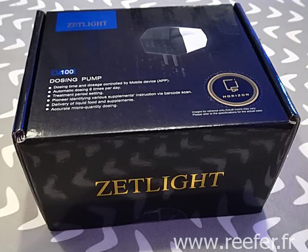 Horizon - ZetLight : pompe doseuse D100